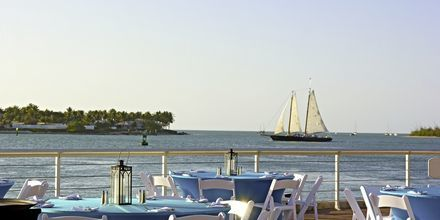 Restaurang i Key West, Florida.