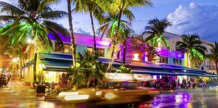 South Beach i Florida, USA.