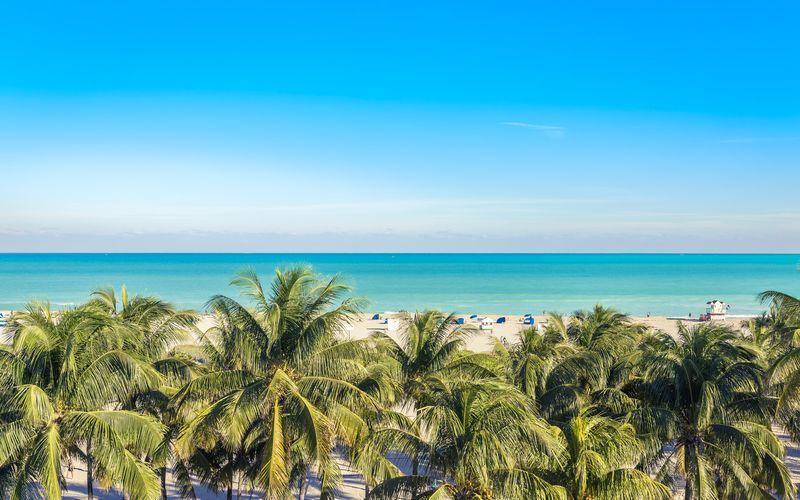 South Beach i Florida.