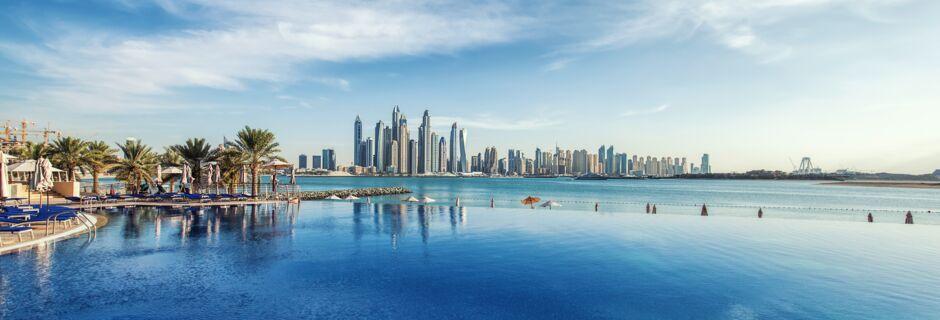 Dubai Marina, Förenade Arabemiraten.