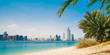 Strand i Dubai, Förenade Arabemiraten.