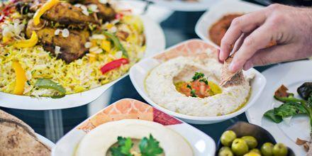 Spännande smaker i Dubai, Förenade Arabemiraten.