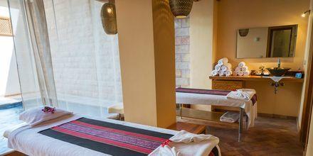Njut av sköna behandlingar på hotell Fort Arabesque Resort, Spa & Villas i Makadi Bay, Egypten.