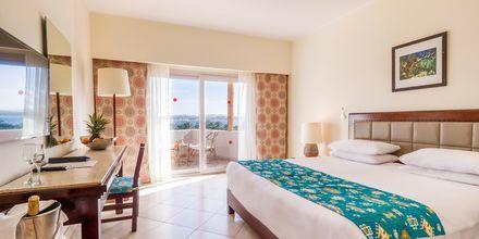 Dubbelrum på hotell Fort Arabesque Resort, Spa & Villas i Makadi Bay, Egypten.