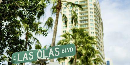 Las Olas Boulevard är den mest levande gatan i staden.