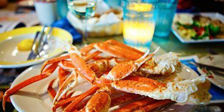 På din semester i Fort Lauderdale gör du bäst i att prova färska skaldjur!
