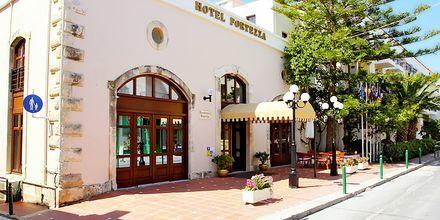 Hotell Fortezza i Rethymnon på Kreta, Grekland.
