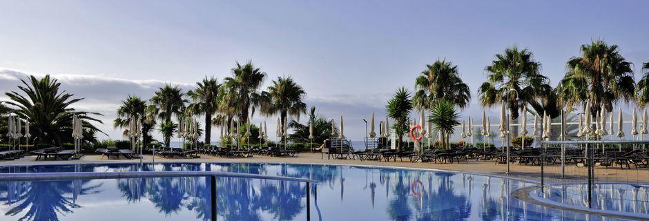 Poolområdet på hotell Four Views Oasis i Funchal på Madeira.