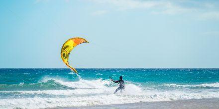 Windsurfing på Fuerteventura.