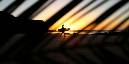Solnedgång på Fuerteventura.