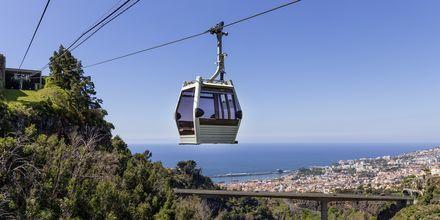 Linbanan i Funchal på Madeira, Portugal.