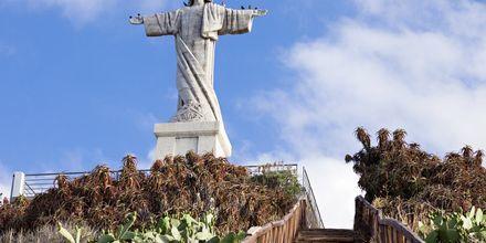 Jesusstatyn i Funchal på Madeira, Portugal.