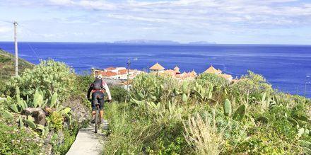 Cykling på Madeira i Portugal.