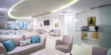 Lobby på hotell Galaxy Beach Resort i Laganas, Zakynthos.