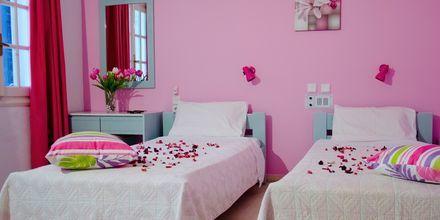 Tvårumslägenhet på hotell Galini i Malia på Kreta.