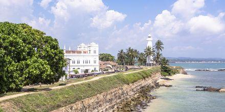 Galle på södra Sri Lanka.