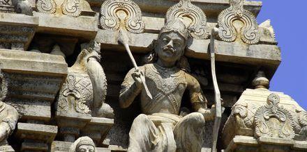 Hindu Temple Gopuram.