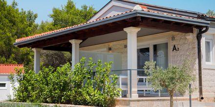 Bungalow på Gava Waterman Resort Milna på Brac, Kroatien.