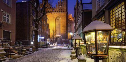 Gdansk är lika mysigt på vintern som sommaren.