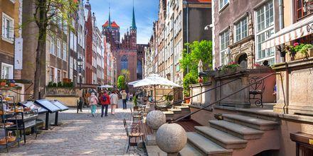 Gdansk i Polen är ett mysigt weekendresmål.
