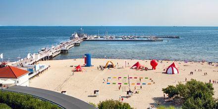 Kurorten Sopot ligger bara 20 minuter från Gdansk.