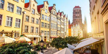 Gamla stan i Gdansk, Polen.