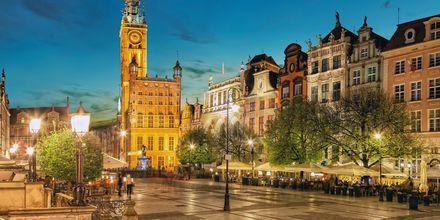 Det gamla stadshuset i Gdansk, Polen.