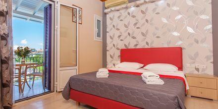 Enrumslägenhet på hotell Georgio på Lefkas, Grekland.