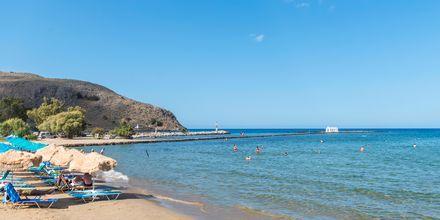 Njut av sköna dagar på stranden i Georgiopolis.