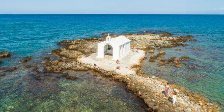 Vacker liten kyrka i Georgiopolis på Kreta, Grekland.
