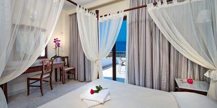 Enrumslägenhet på hotell Geraniotis Beach i Platanias på  Kreta, Grekland.