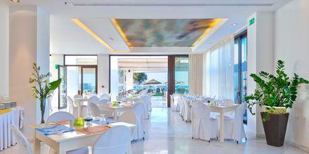 Restaurang på hotell Geraniotis Beach i Platanias på Kreta.