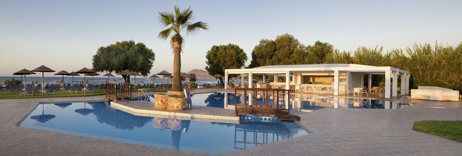 Hotell Geraniotis Beach i Platanias på Kreta.