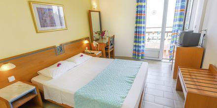 Dubbelrum på hotell Glicorisa Beach i Pythagorion, Samos.