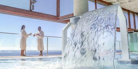 Inomhuspool/spa på Gloria Palace Amadores Thalasso & Hotel, Gran Canaria.