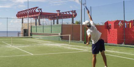 Tennis på Gloria Palace Amadores Thalasso & Hotel, Gran Canaria.