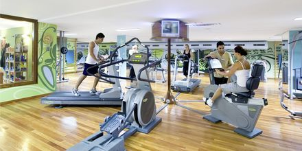 Gym på Gloria Palace Amadores Thalasso & Hotel, Gran Canaria.