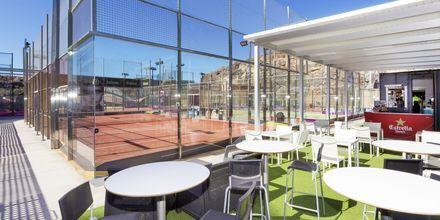Tennis och padeltennis på Gloria Palace San Agustin Thalassso & Hotel, Gran Canaria.