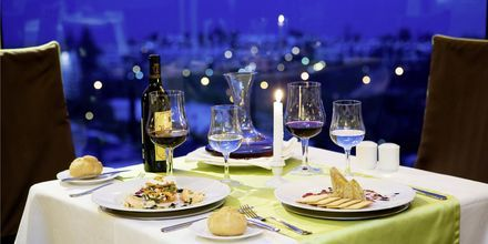 À la carte restaurangen Gorbea på Gloria Palace San Agustin Thalassso & Hotel, Gran Canaria.