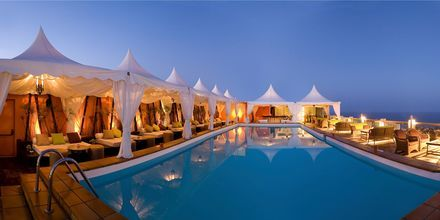 Pool på takterrassen på Gloria Palace San Agustin Thalassso & Hotel, Gran Canaria.