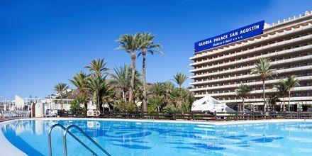 Pool på Gloria Palace San Agustin Thalassso & Hotel, Gran Canaria.