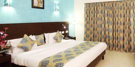 Deluxerum på hotell Goan Heritage i Norra Goa, Indien.