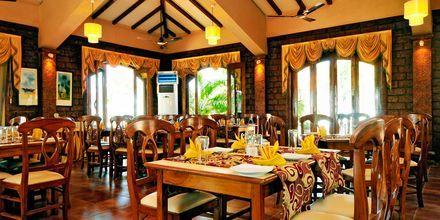Restaurangen på hotell Goan Heritage i Norra Goa, Indien.