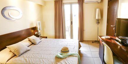 Dubbelrum på hotell Golden Beach i Hersonissos på Kreta.