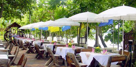 Restaurang på Golden Beach Resort i Ao Nang, Krabi.