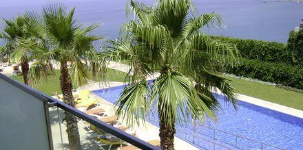 Balkongvy på hotell Golden Residence, Madeira.