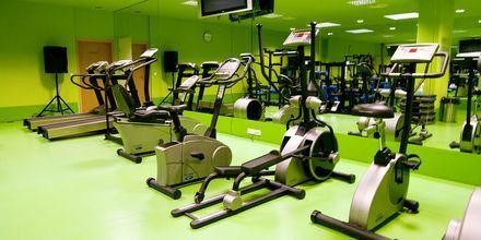 Gym på hotell Golden Residence, Madeira.