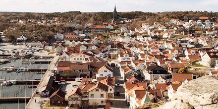 Grebbestad i Bohuslän