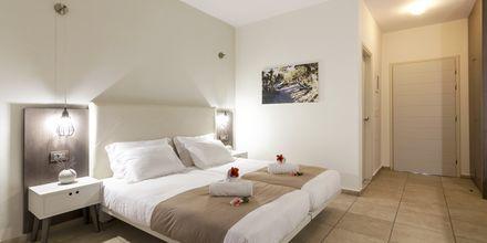 Dubbelrum på hotell Gouves Bay i Gouves, Kreta.