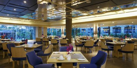 Bufférestaurangen på Graceland Khao Lak Resort, Thailand.